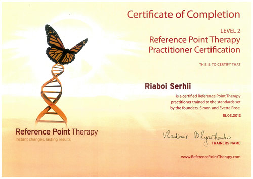 Reference Point Therapy 2